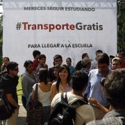 Transporte gratuito a estudiantes una realidad en Jalisco: Aristóteles Sandoval