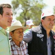 Comienzan obras elegidas por habitantes de la región Lagunas
