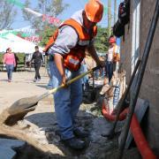 SEDIS comienza obras de alumbrado y drenaje en La Ferro