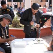 Votan habitantes de la región Lagunas Presupuesto Participativo