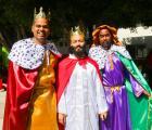 Llegan los Reyes Magos a Hogar Cabañas