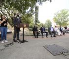 Autoridades de Gobierno conmemoran aniversario de hechos ocurridos el 22 de abril