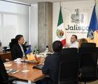 Funcionarios del ACNUR, se reúnen con funcionarios (as) del estado de Jalisco para trabajar en agenda conjunta