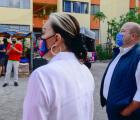Entrega Enrique Alfaro obra de rehabilitación en El Sauz