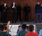 Disfrutan de conciertos culturales menores de Hogar Cabañas y Cien Corazones