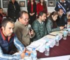 En Concepción de Buenos Aires entrega SEDIS apoyos y se reúne con ediles de la región