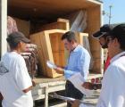 SEDIS entrega menaje y láminas en comunidades de La Huerta