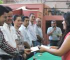 Entrega SEDIS apoyos sociales en Talpa de Allende