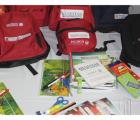 Presentan SEDIS y SE mochilas y útiles escolares que se repartirán gratuitamente a alumnos de escuelas públicas