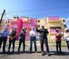 Entrega y supervisa Enrique Alfaro obras de renovación urbana, habitacional, deportiva y social en Tonalá