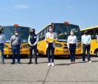 Inicia SSAS entrega de camiones Mi Transporte Escolar